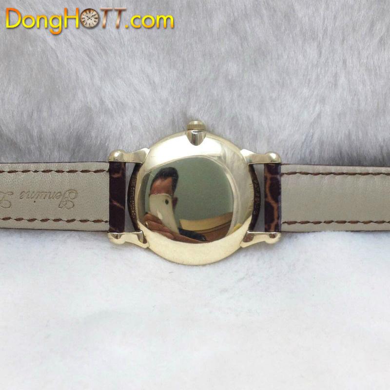 Đồng hồ cổ Hamilton lên dây bọc vàng 10k Gold Fille chính hãng USA