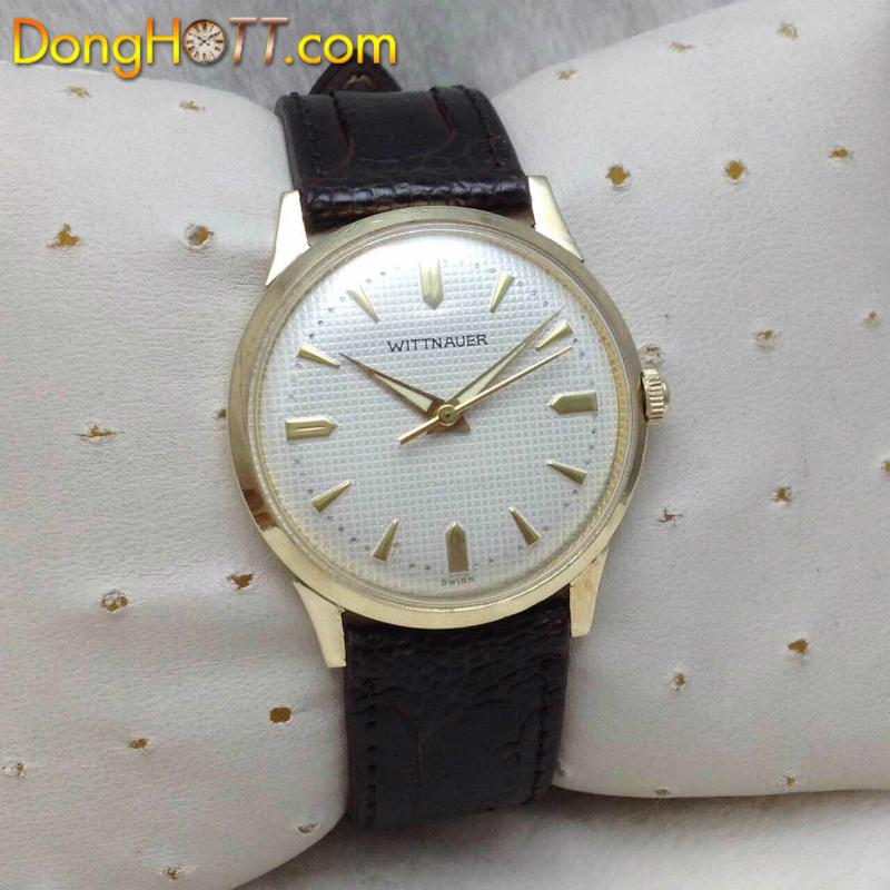 Đồng hồ cổ Wittnauer Lên dây chính hãng Thuỵ Sĩ